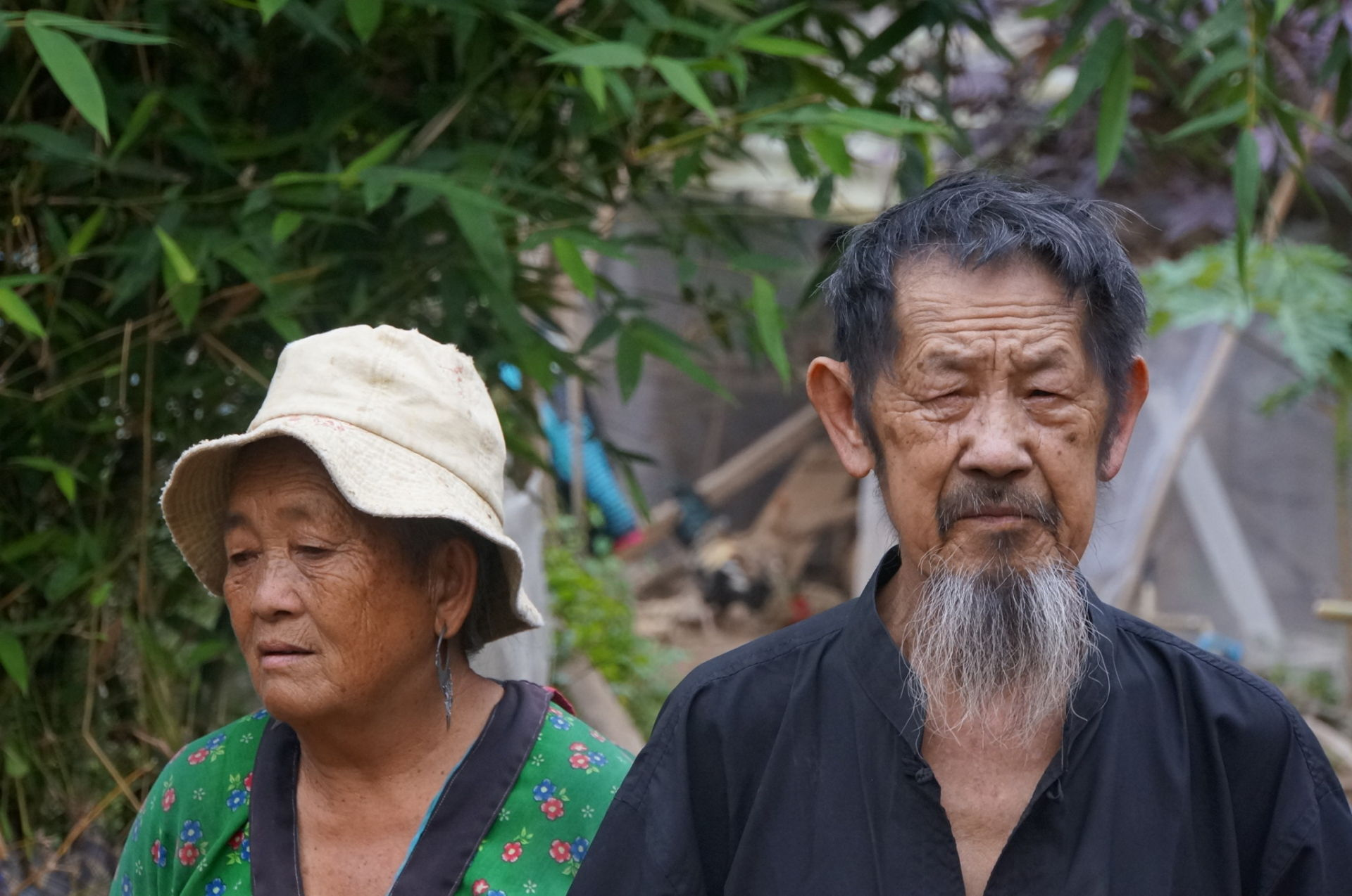 This very old couple works very hard on a farm every day for very little money... We do whatever we can to make their final years a little better for them (Son La Province, Northern Vietnam).