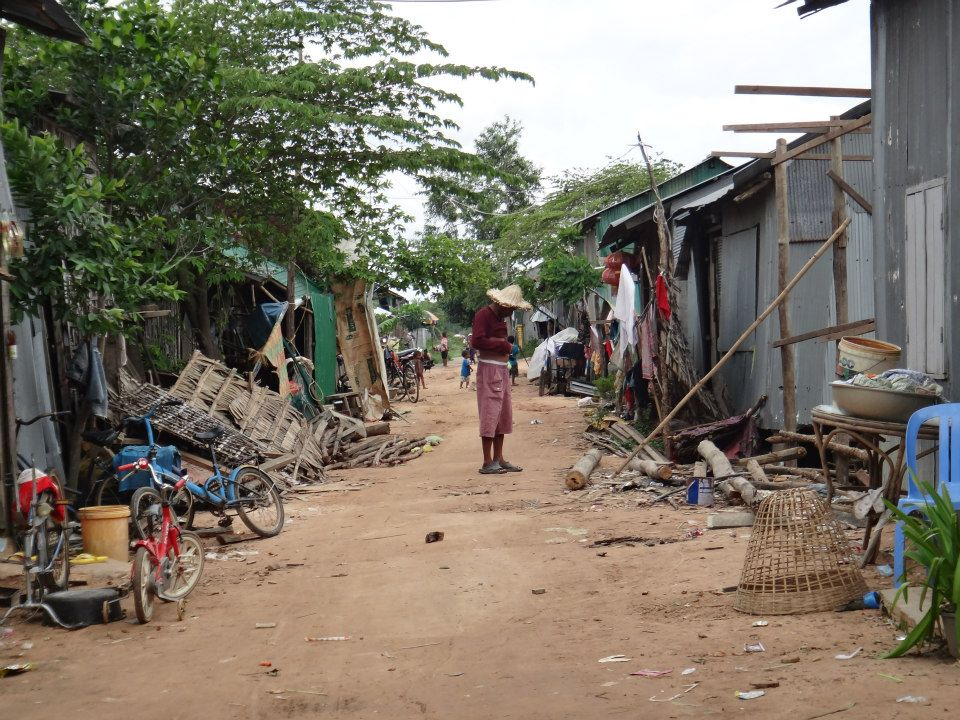 ... where people really live in poor conditions.