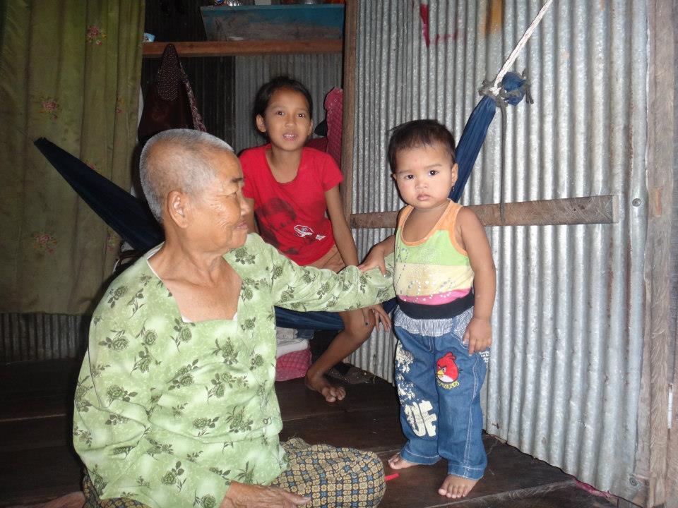 A struggling family.